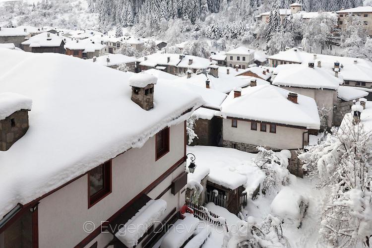 Снежни покриви в Широка Лъка