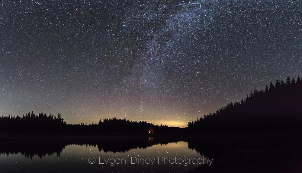 Звездно небе над Широка Поляна