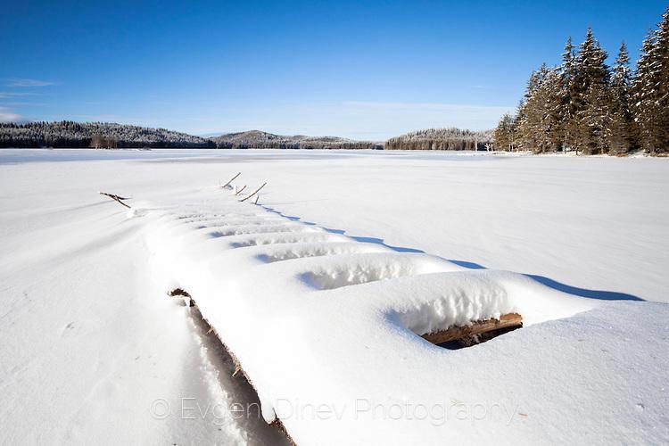 Широка Поляна в лед