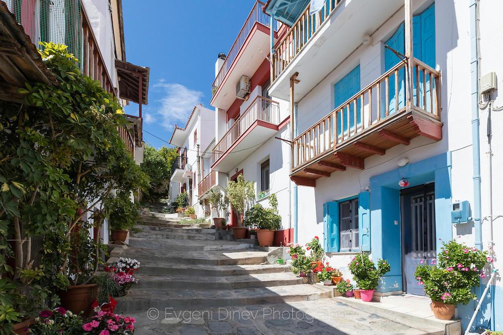 Улица в Скопелос