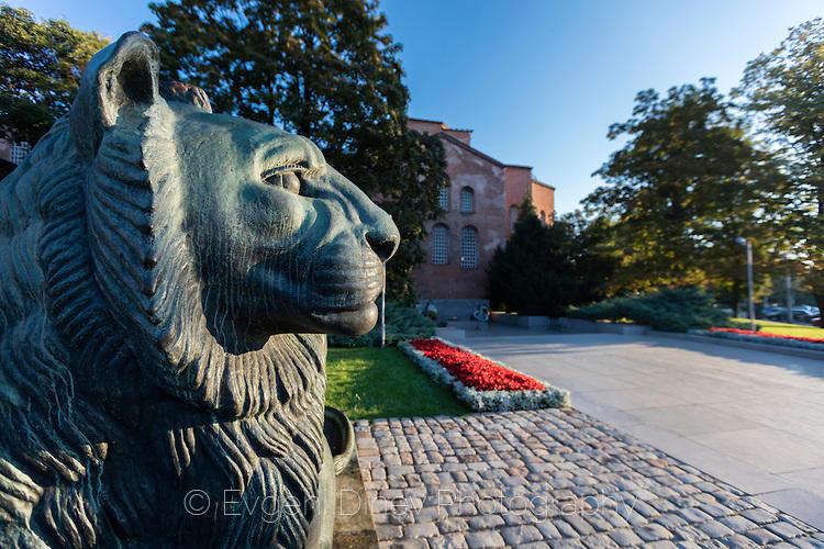 Лъвът пред храм Света София