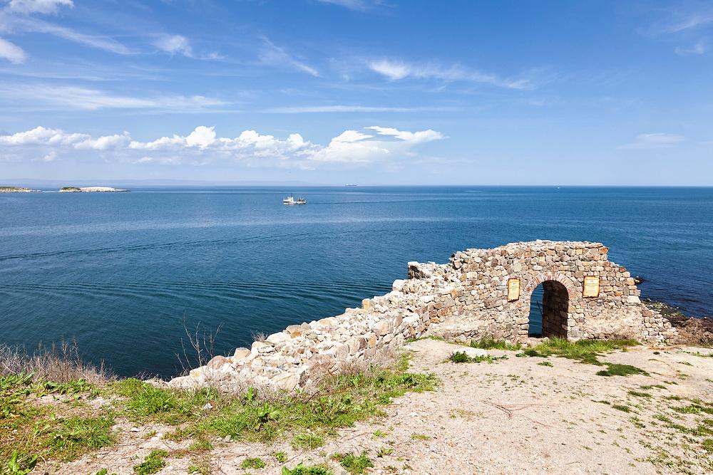 Северна крепостна стена в Созопол