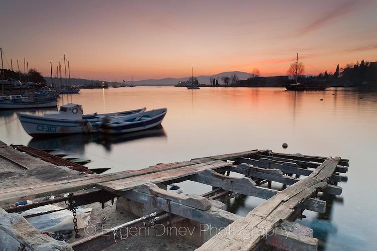 Рибарско пристанище в Созопол