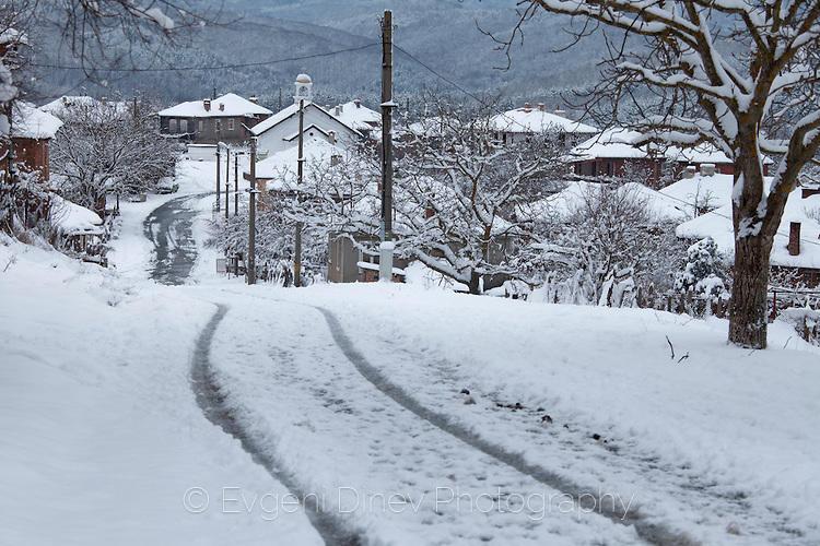 Следи в снега