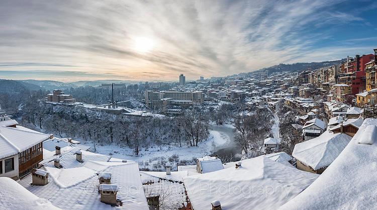 Велико Търново през зимата