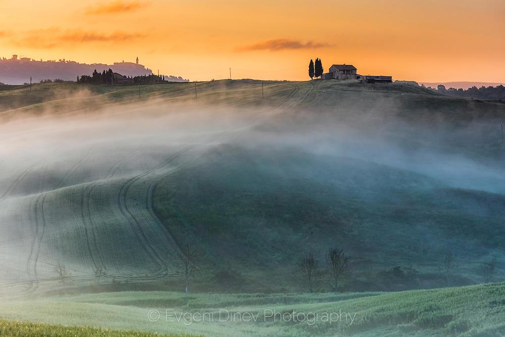 Тоскана по изгрев