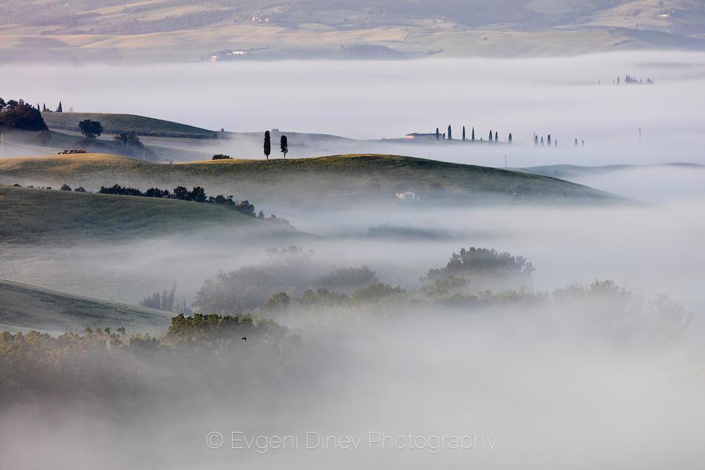 Мъгла над Тосканските поля
