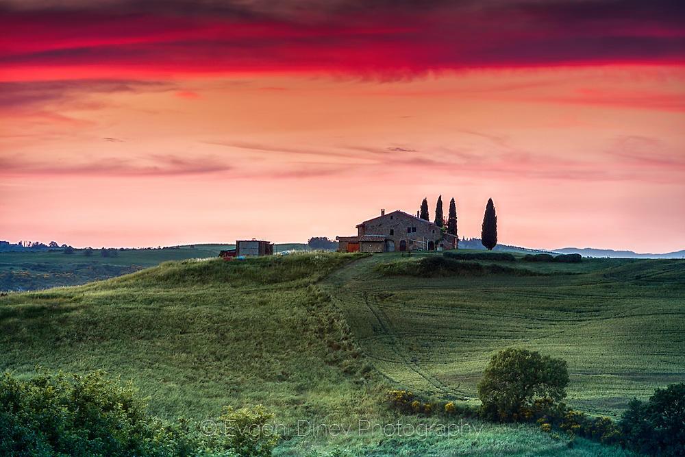 Тоскански залез