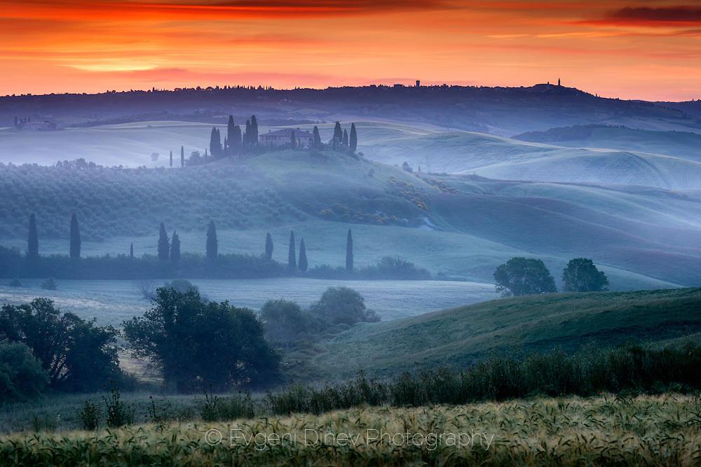 Тосканска гледка