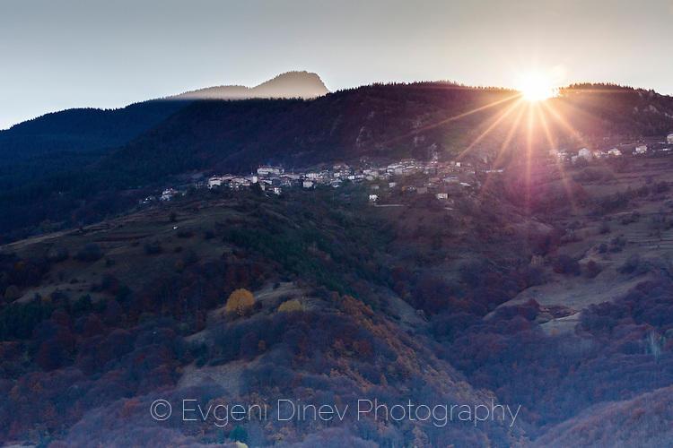Село Осиково по изгрев