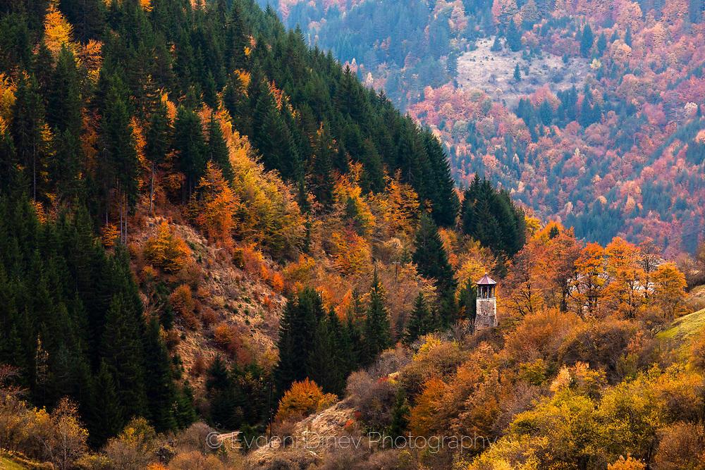 Село Върбово през есента