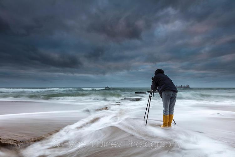 Фотограф на варненския бряг