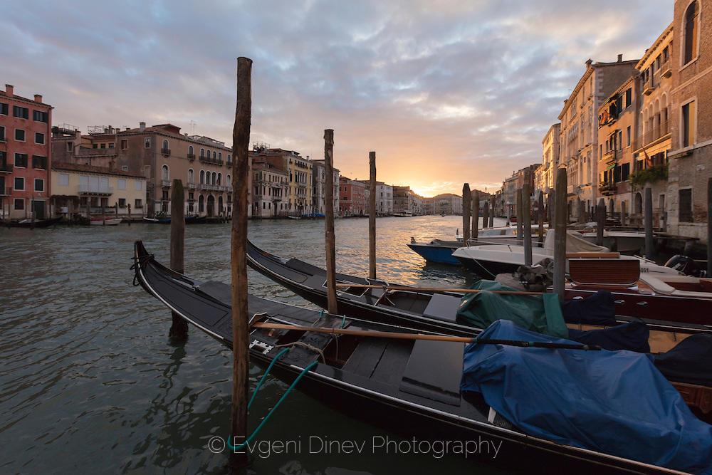 Залез във Венеция