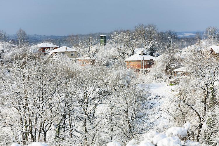Заберново в сняг