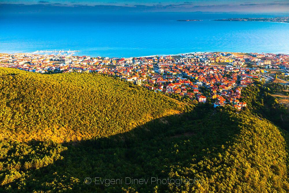 Поглед над Свети Влас от Балкана