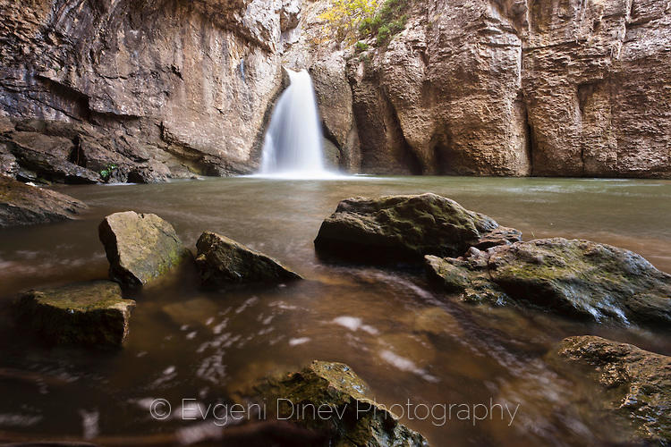 Водопад в Еменския каньон