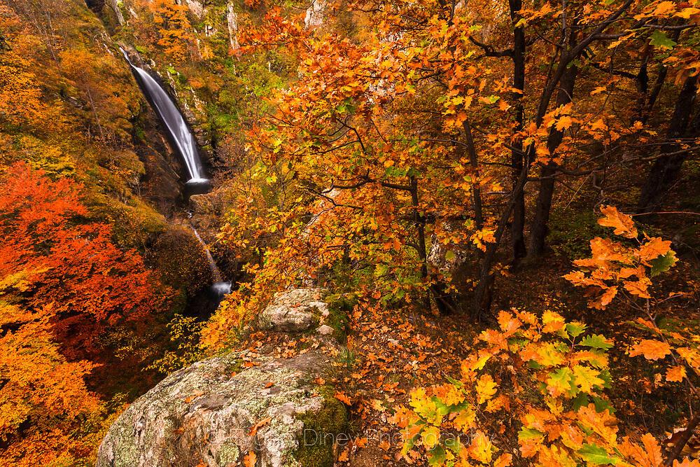 Фотински водопад през есента