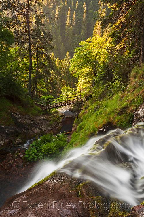 Waterfalls canyon