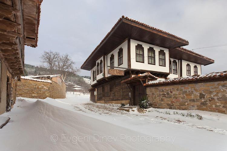Типична жеравненска архитектура